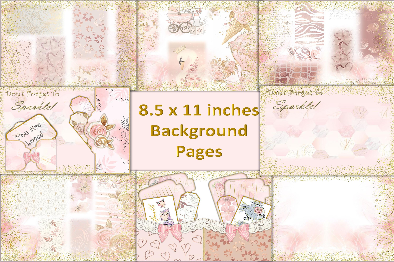 Printable Journal Kit with free Ephemera JPEG PNG PDF example image 2