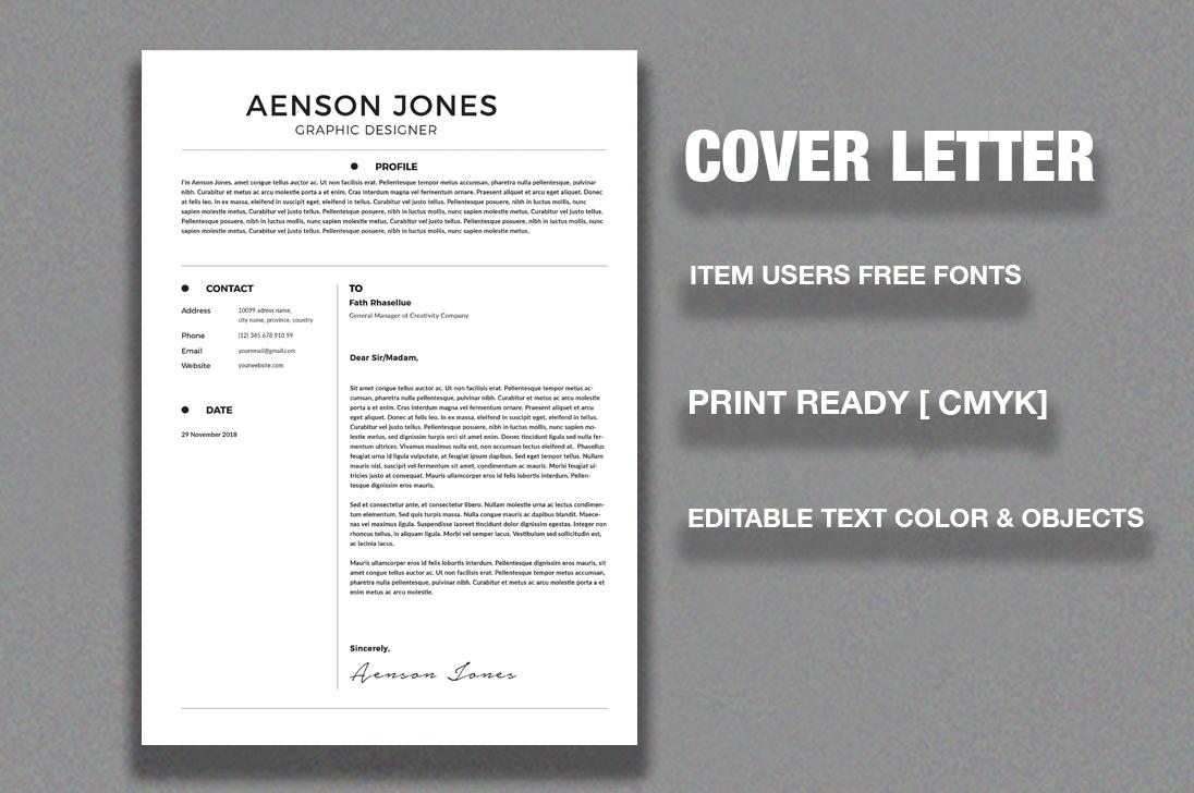 CV/Resume example image 2