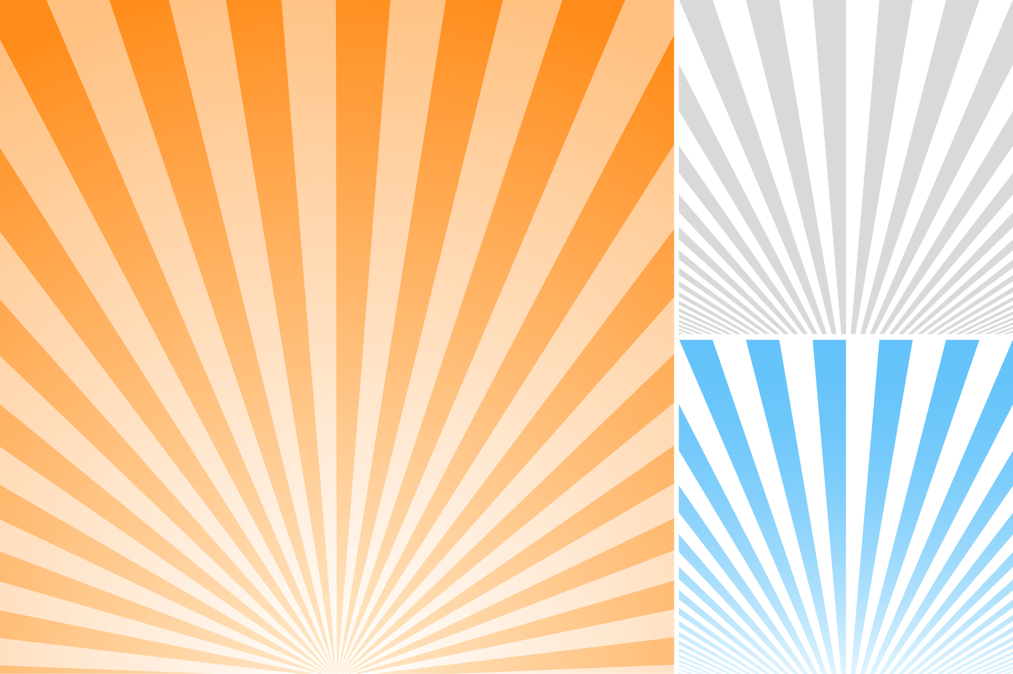 Collection of striped backgrounds. example image 4