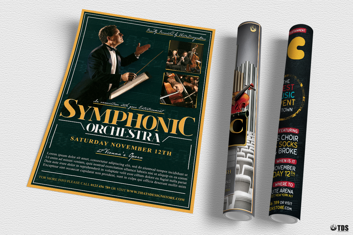 Special Orchestra Flyer Bundle example image 3