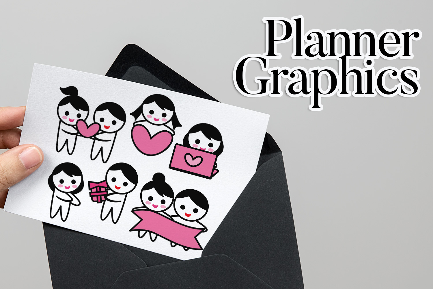 Holidays Bundle - Planner Graphic Illustrations example image 25