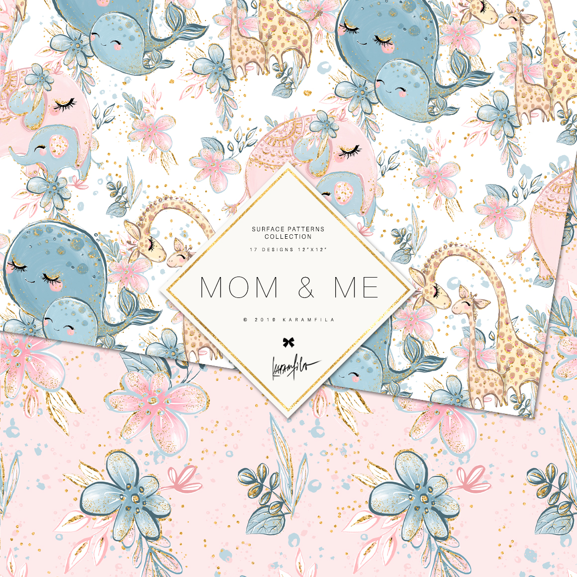 Baby Animals Mother's Day Patterns example image 8