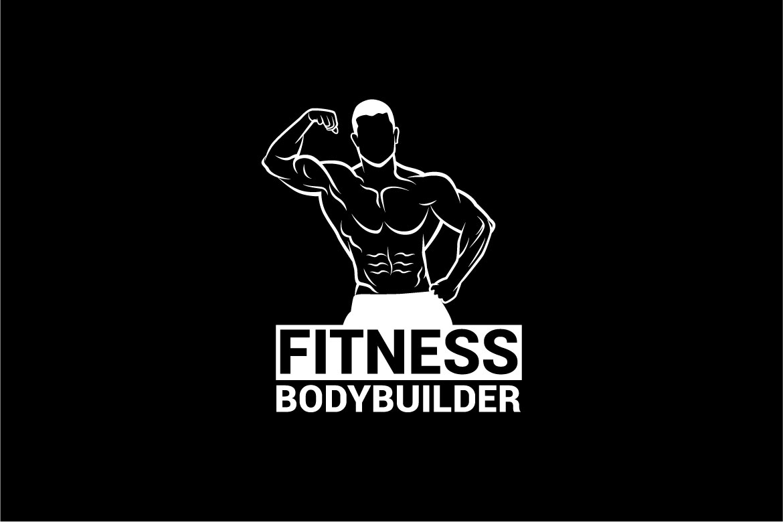 bodybuilder logo 3 example image 4