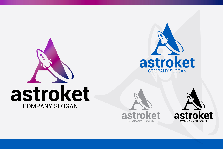 A Rocket Logo example image 1