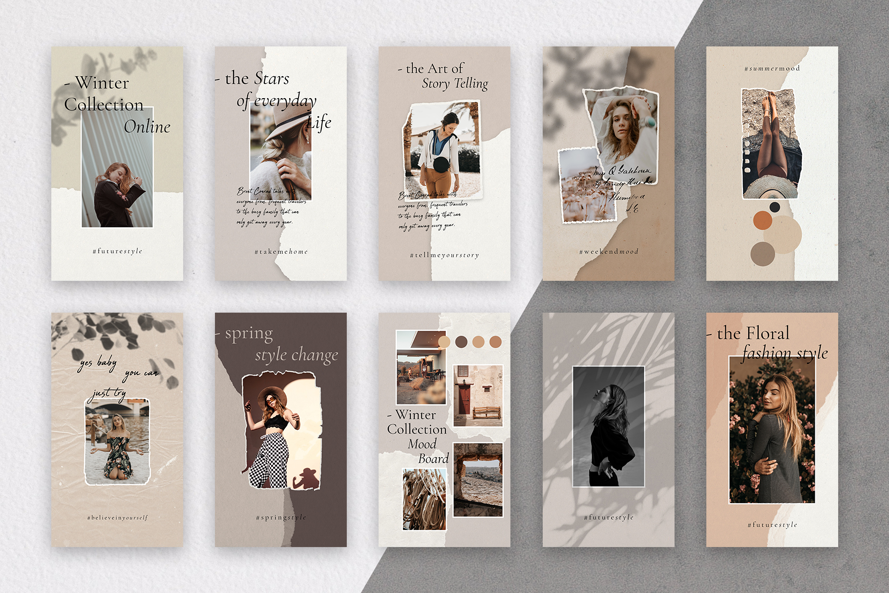 #InstaBabe - Creative & Modern Instagram Story Templates example image 4
