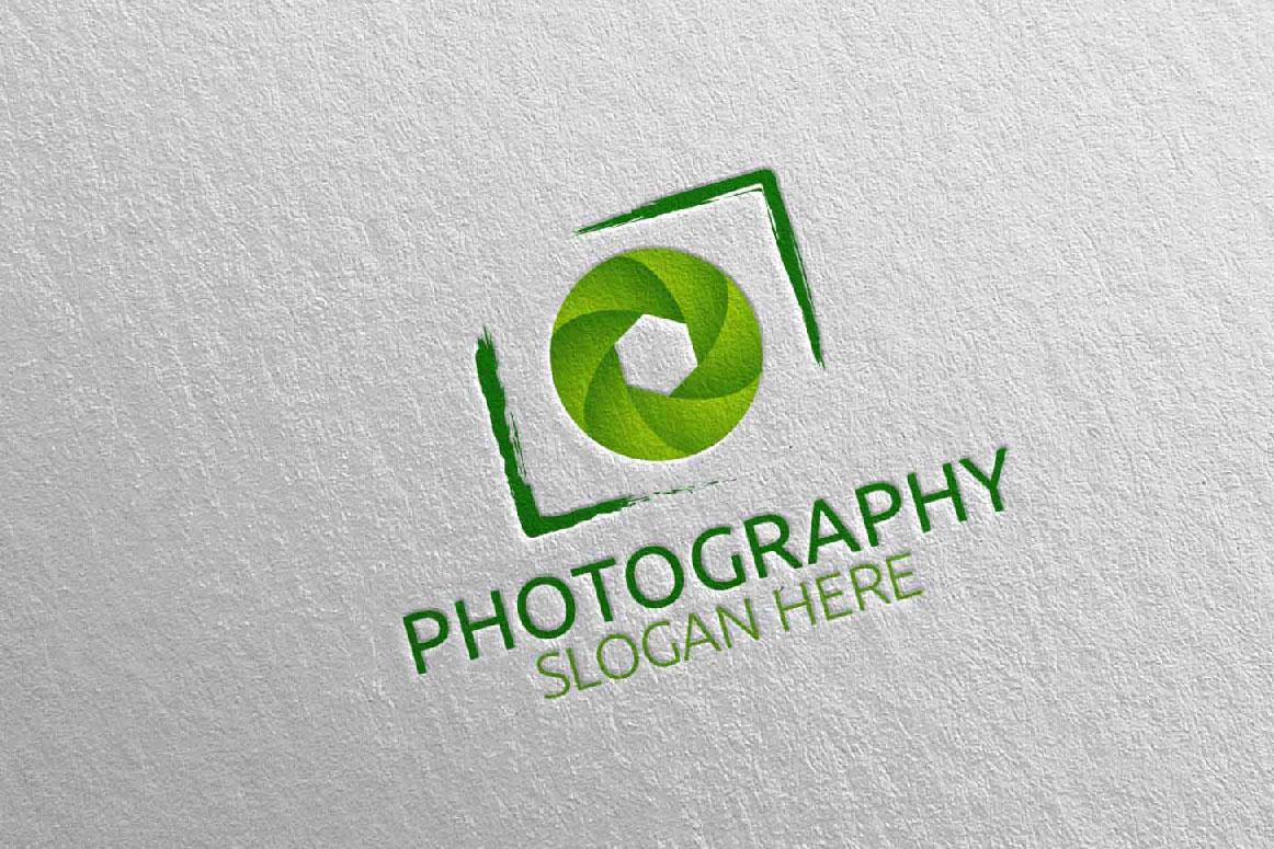 Abstract Camera Photography Logo 4 example image 5