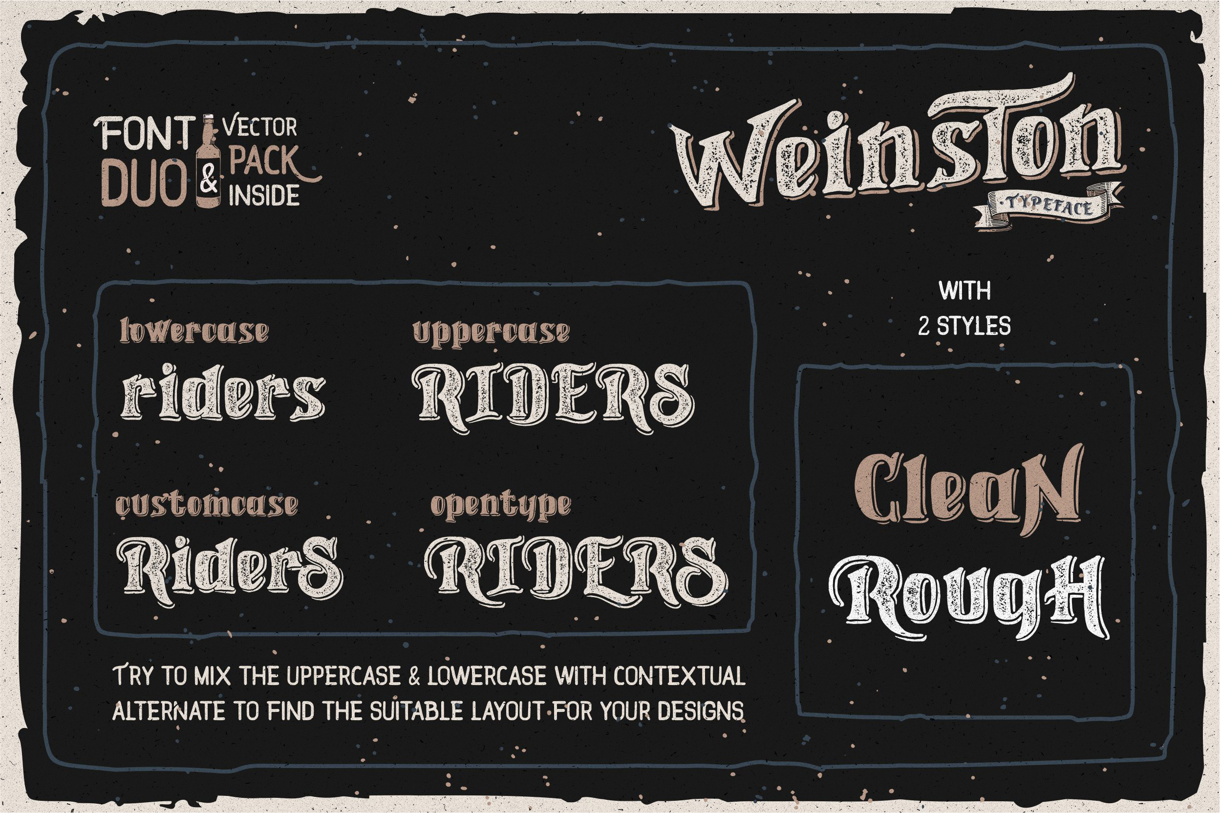 Weinston Typeface & Extras example image 2
