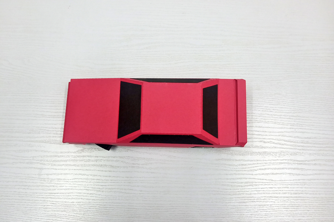DIY Volvo Car - 3d papercraft example image 3