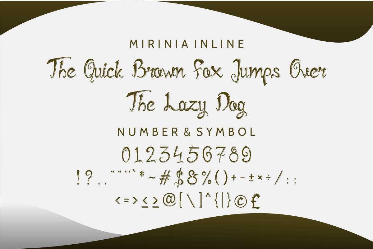 Mirinia example image 5
