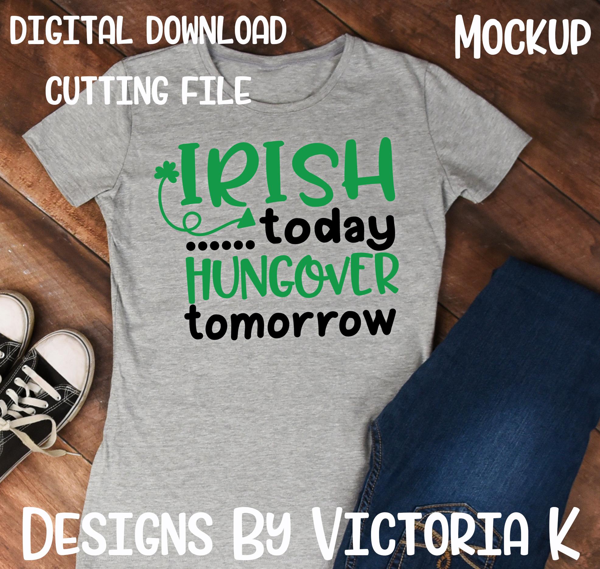 St Patrick's Day svg bundle, 30 Designs, SVG, DXF, EPS Files, Cricut Design Space, Vinyl Cut Files example image 3