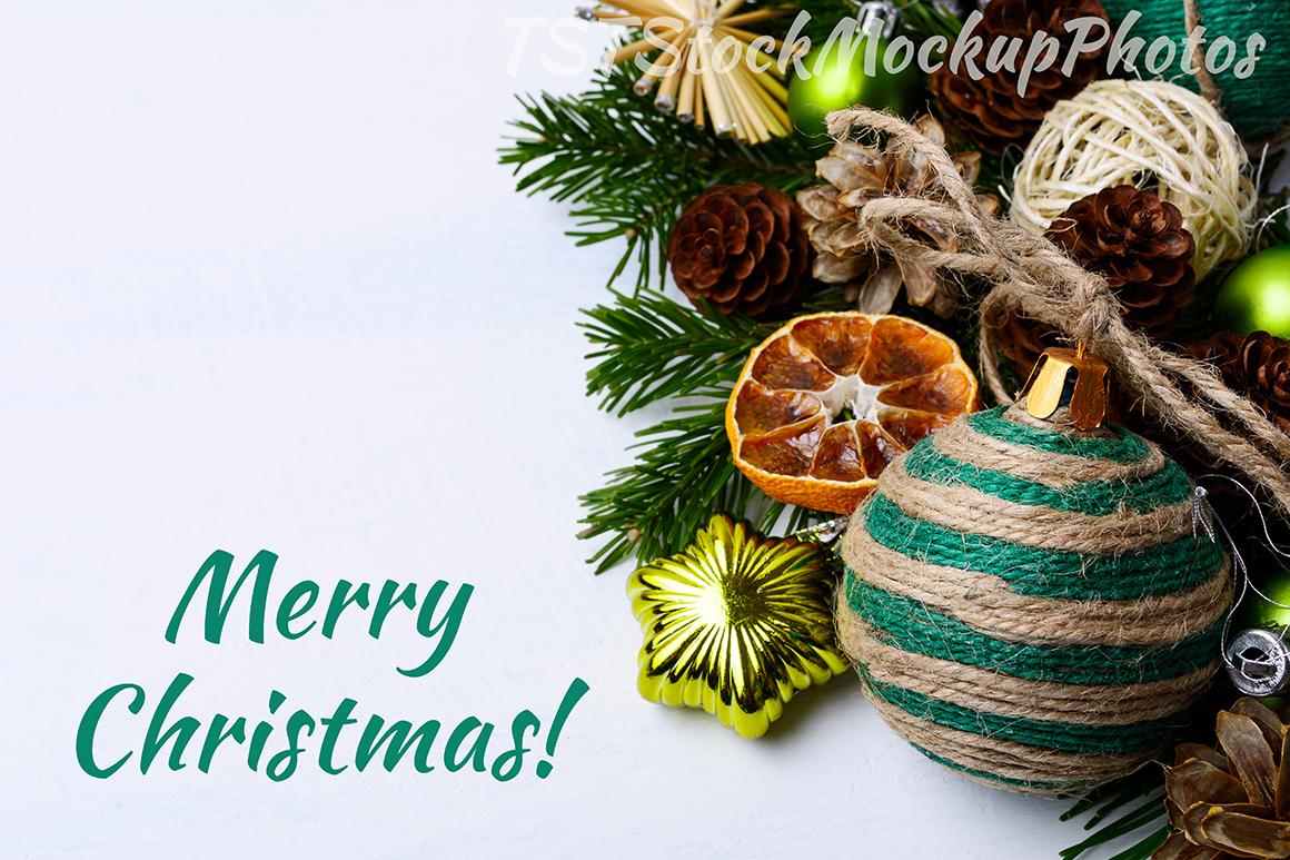 Christmas backgrounds bundle. example image 11