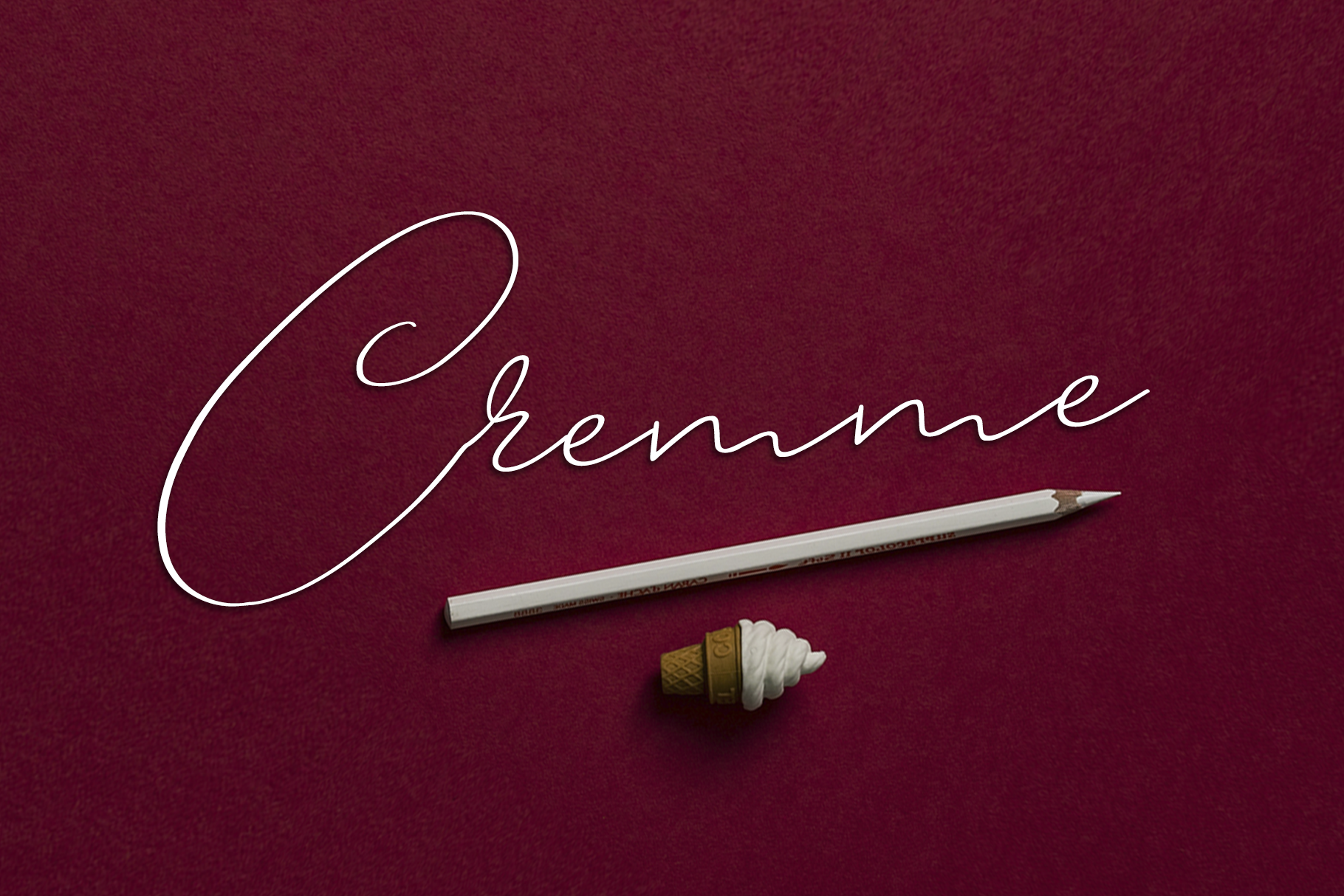 Cremme Script example image 1