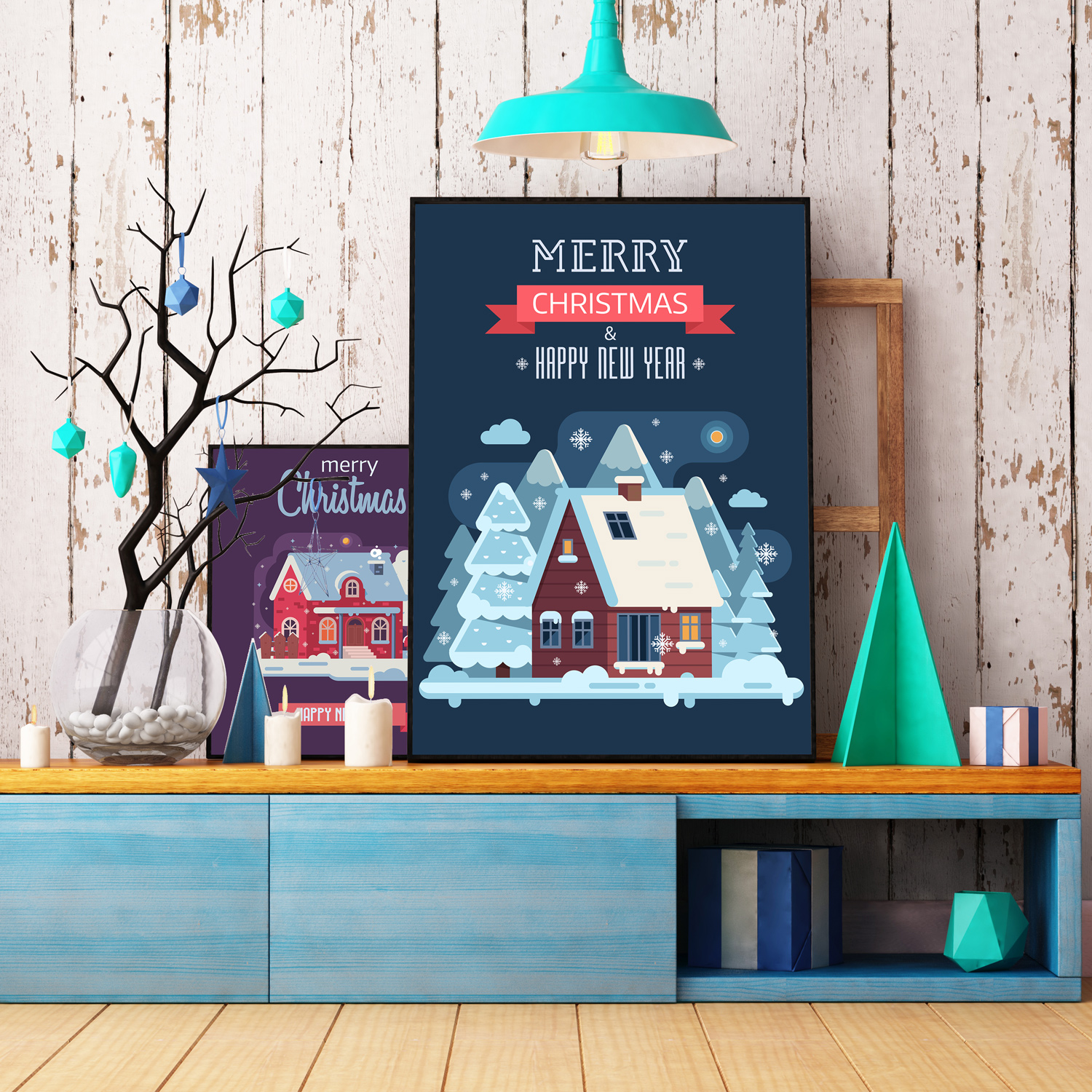 Winter Cozy House Collection example image 9