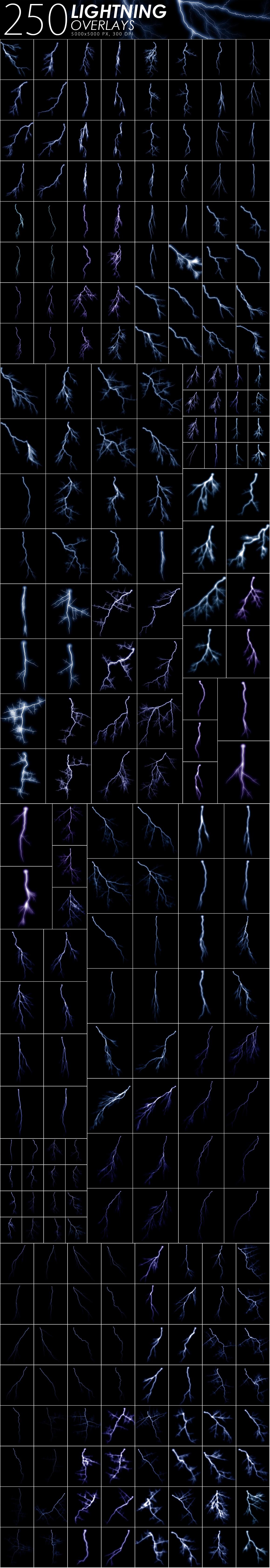 525 Rain, Snow, Lightning Overlays example image 6