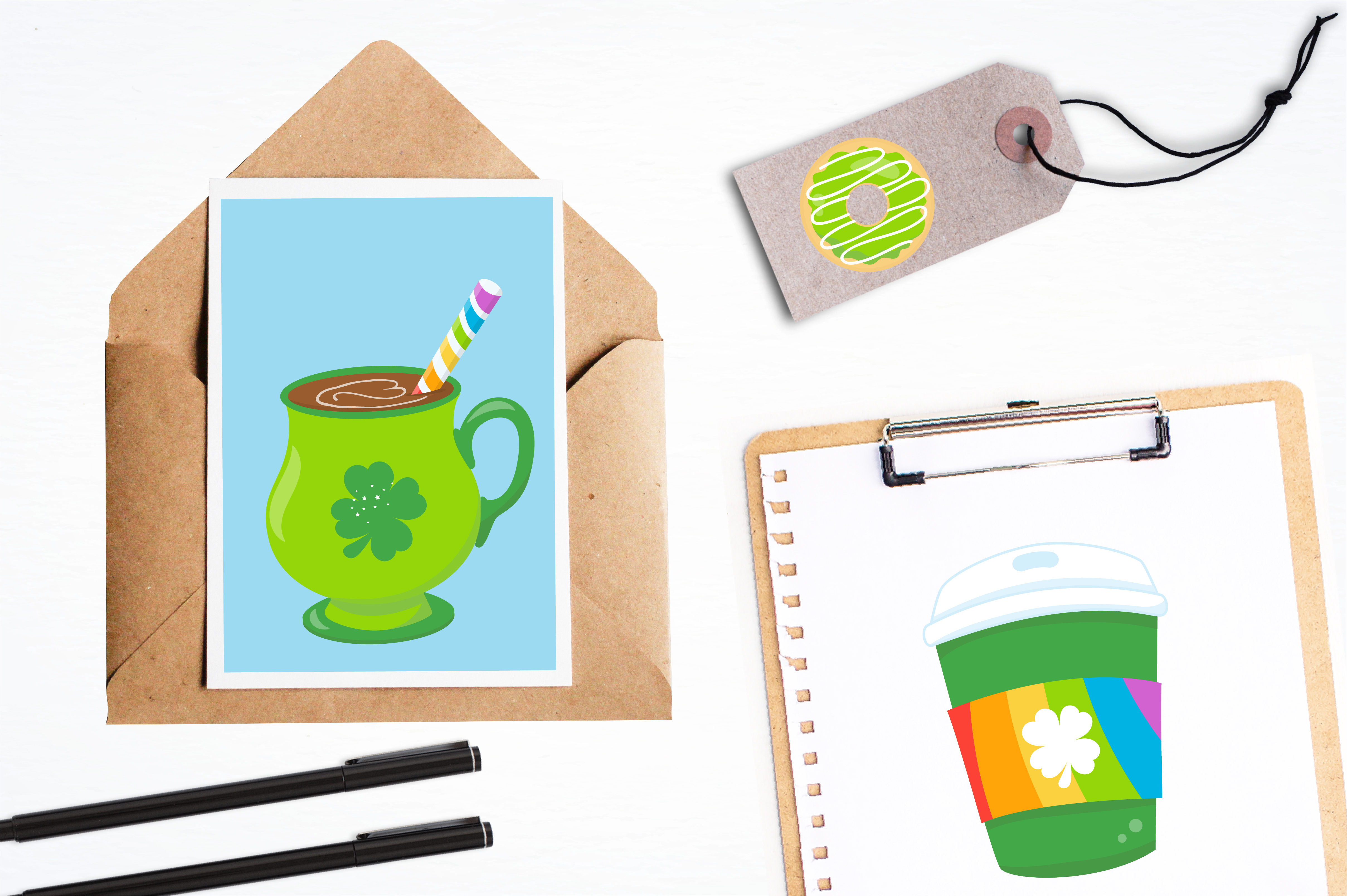 Irish coffee graphics and illustrations example image 4