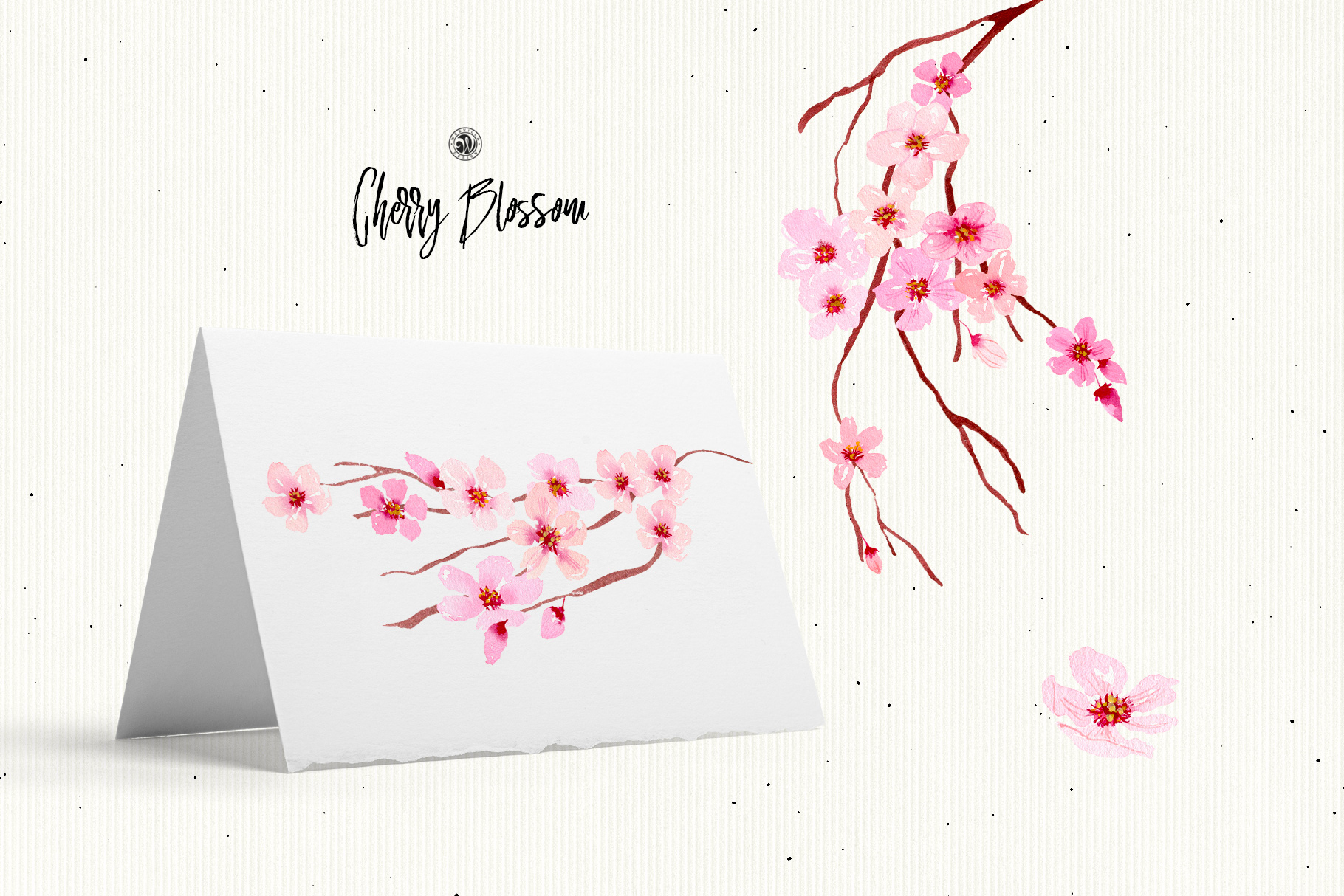 Cherry Blossom Flowers example image 2