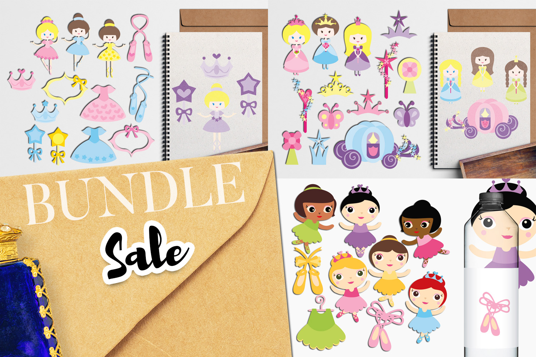 Just For Girls Clip Art Illustrations Huge Bundle example image 16