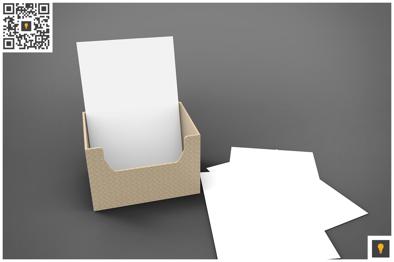 Flyer Holder 3D Render example image 5
