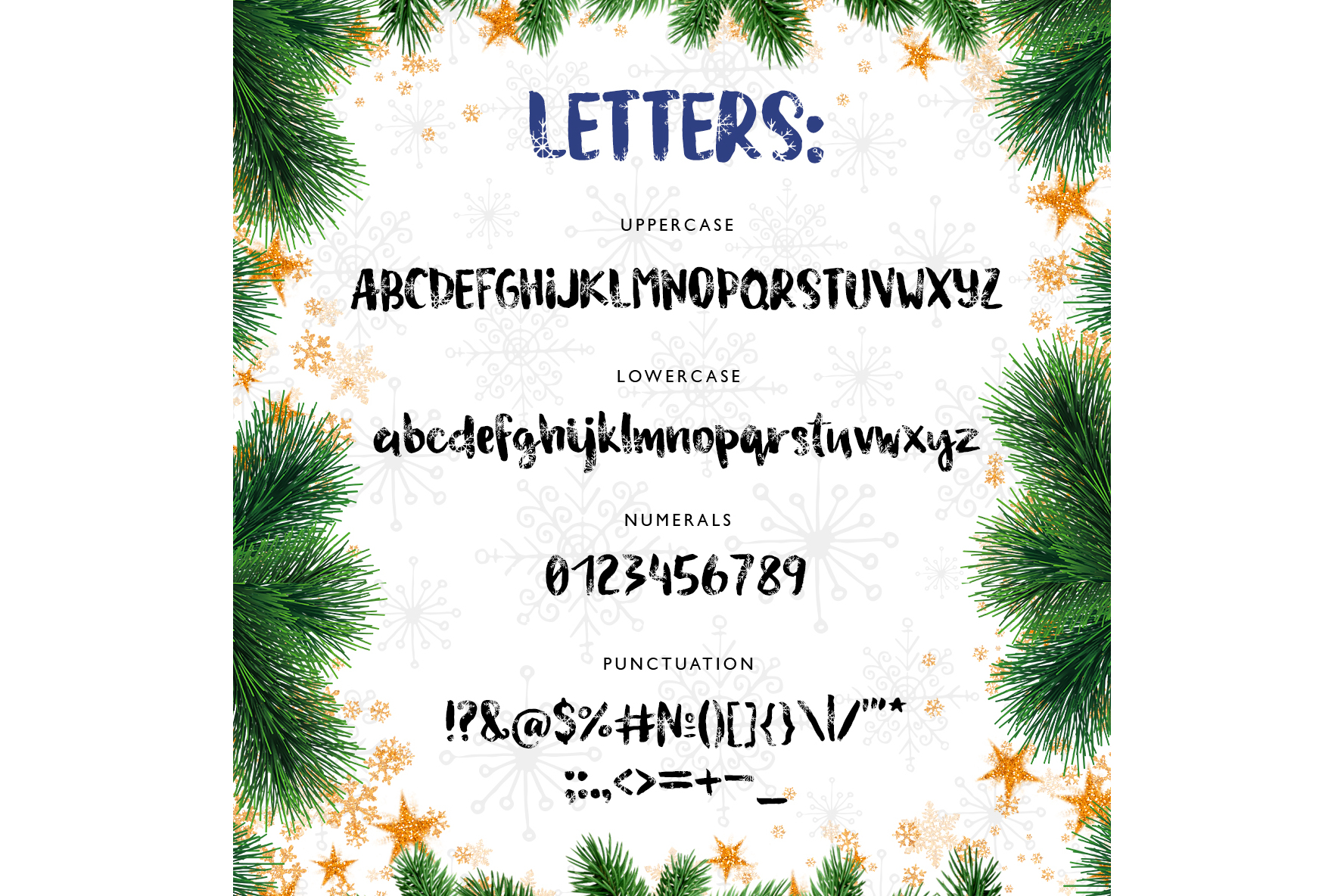 Magic Snow - Christmas Typeface example image 2