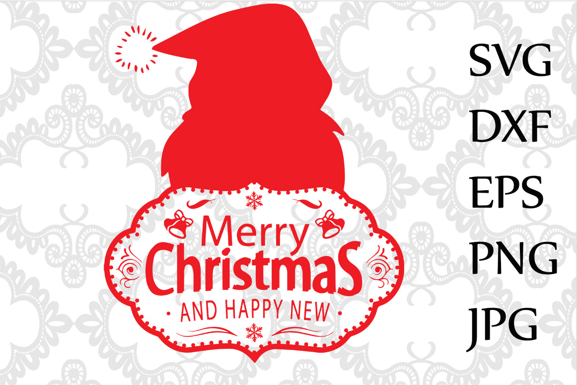Merry Christmas Svg example image 1