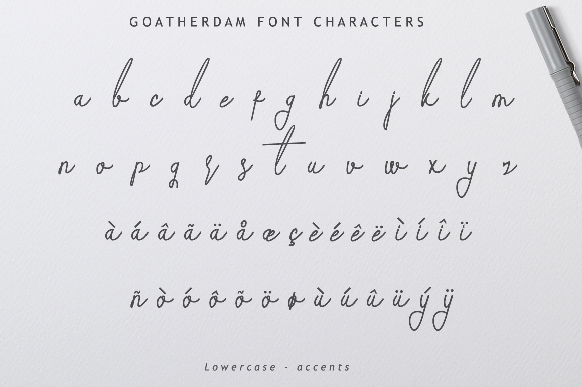 Goatherdam Font example image 10