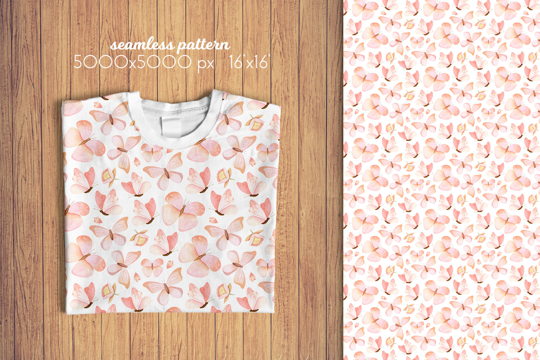 Butterflies and Dragonflies Patterns Collection example image 6