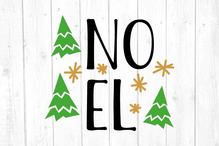 Noel Svg, Christmas, Christmas Svg, Merry Christmas example image 1