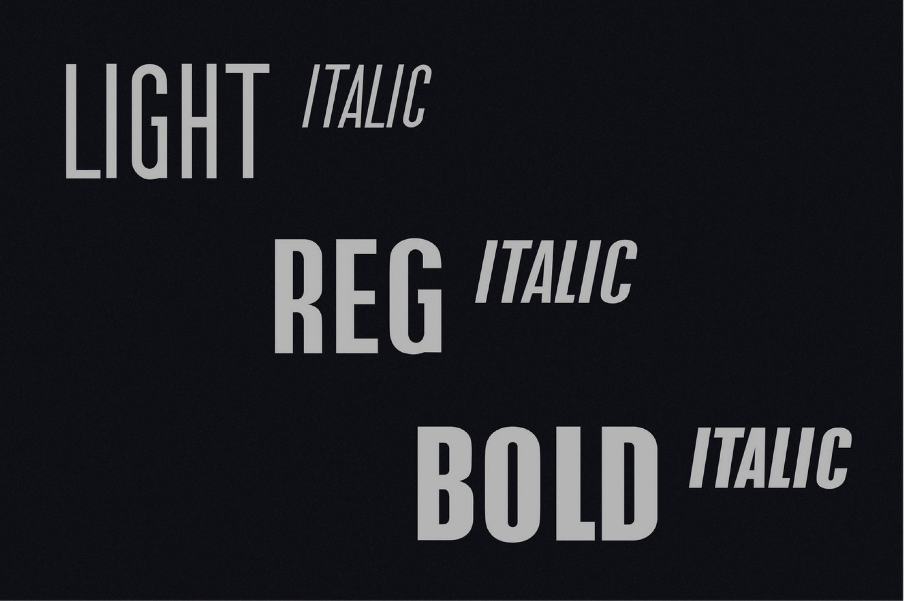 the Tower. Sans Serif font family example image 3