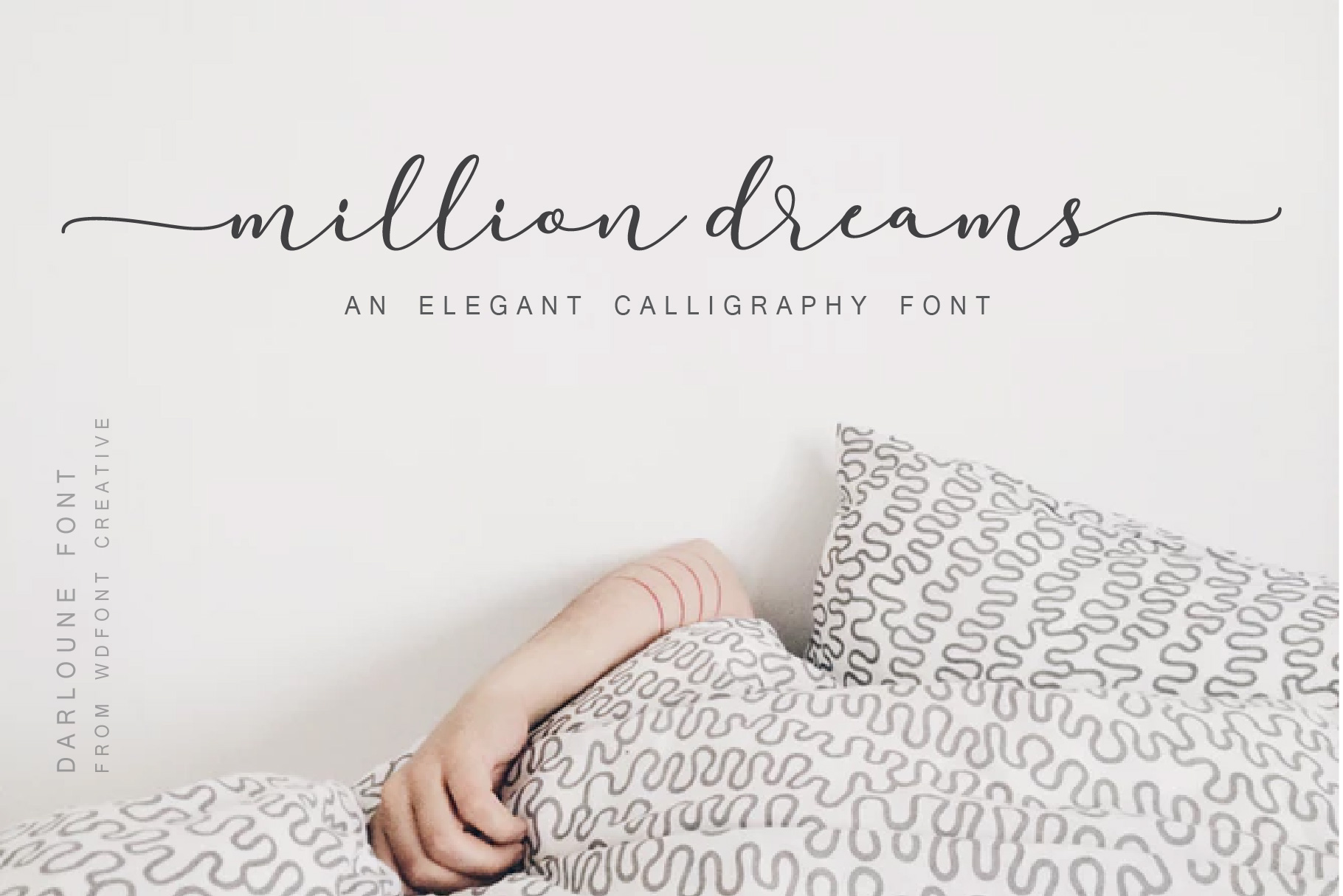 Darloune | An Elegant Calligraphy example image 3