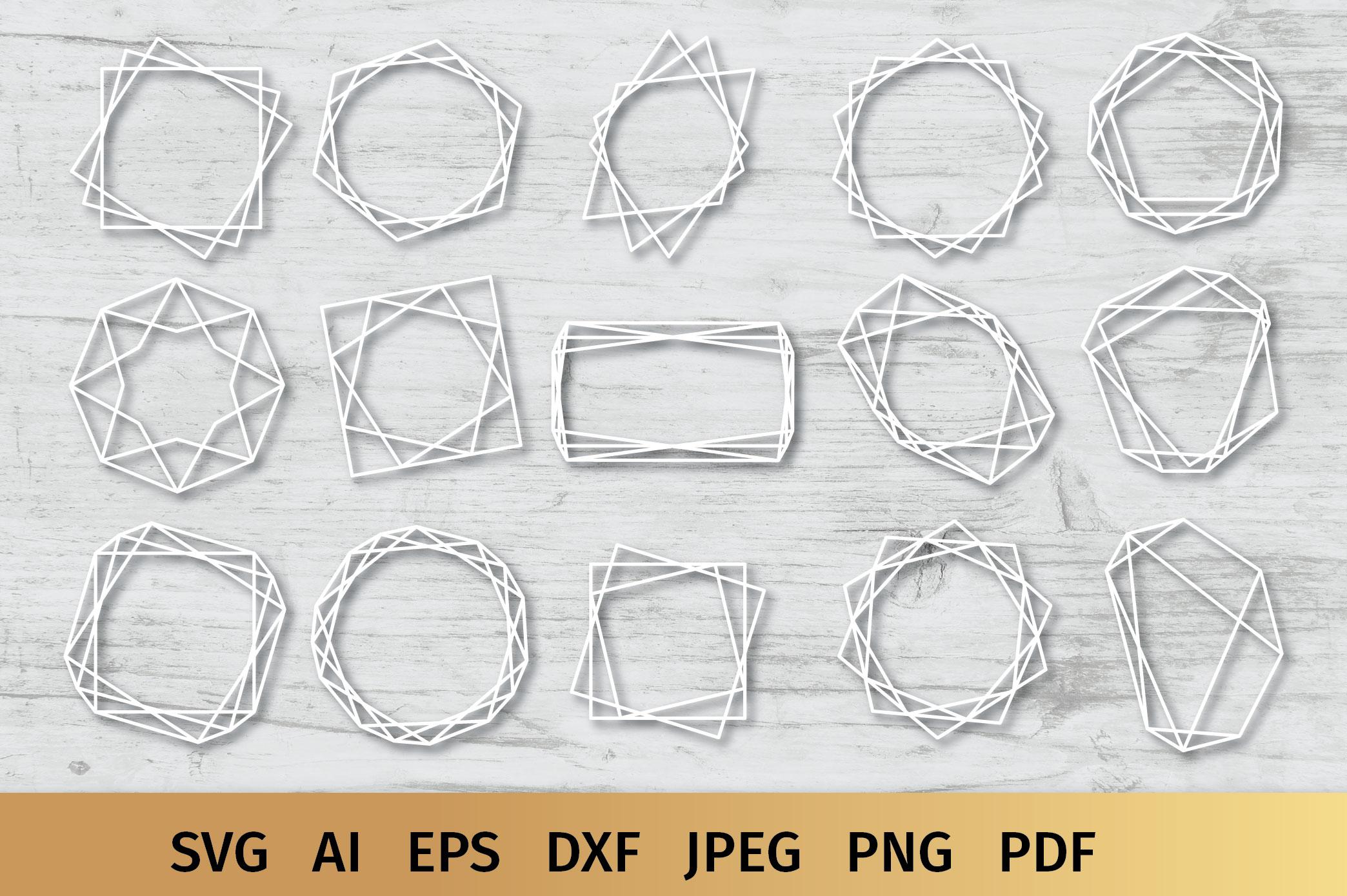 15 Geometric Frames example image 9