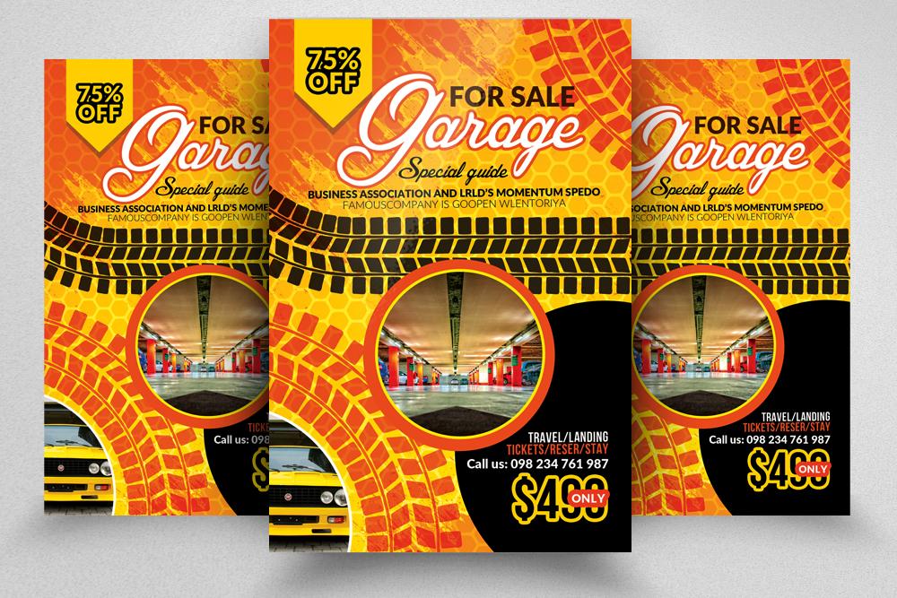 10 Garage Sale Flyer Bundle example image 2