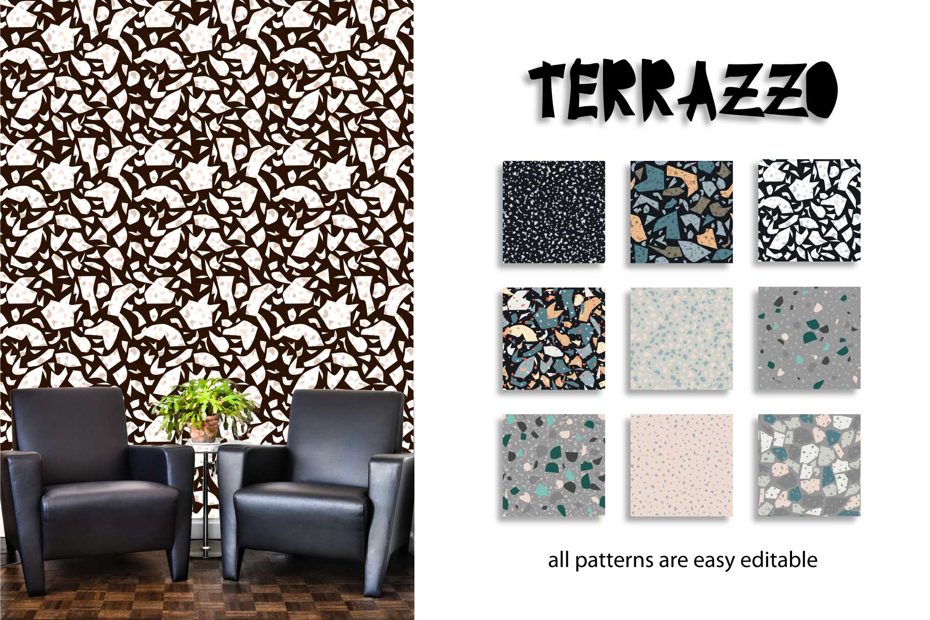 30 terrazzo seamless patterns example image 2