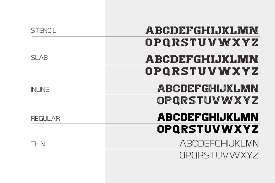 Hantam Font example image 3