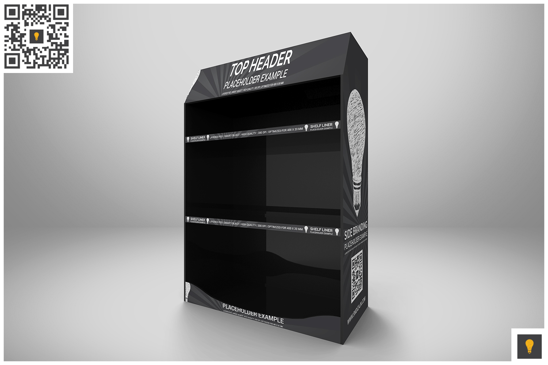 Promotional Shelf Display Mockup example image 3