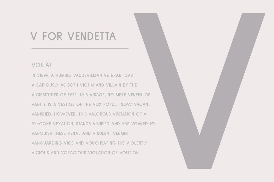 Violet | A Stylish Sans Serif example image 4