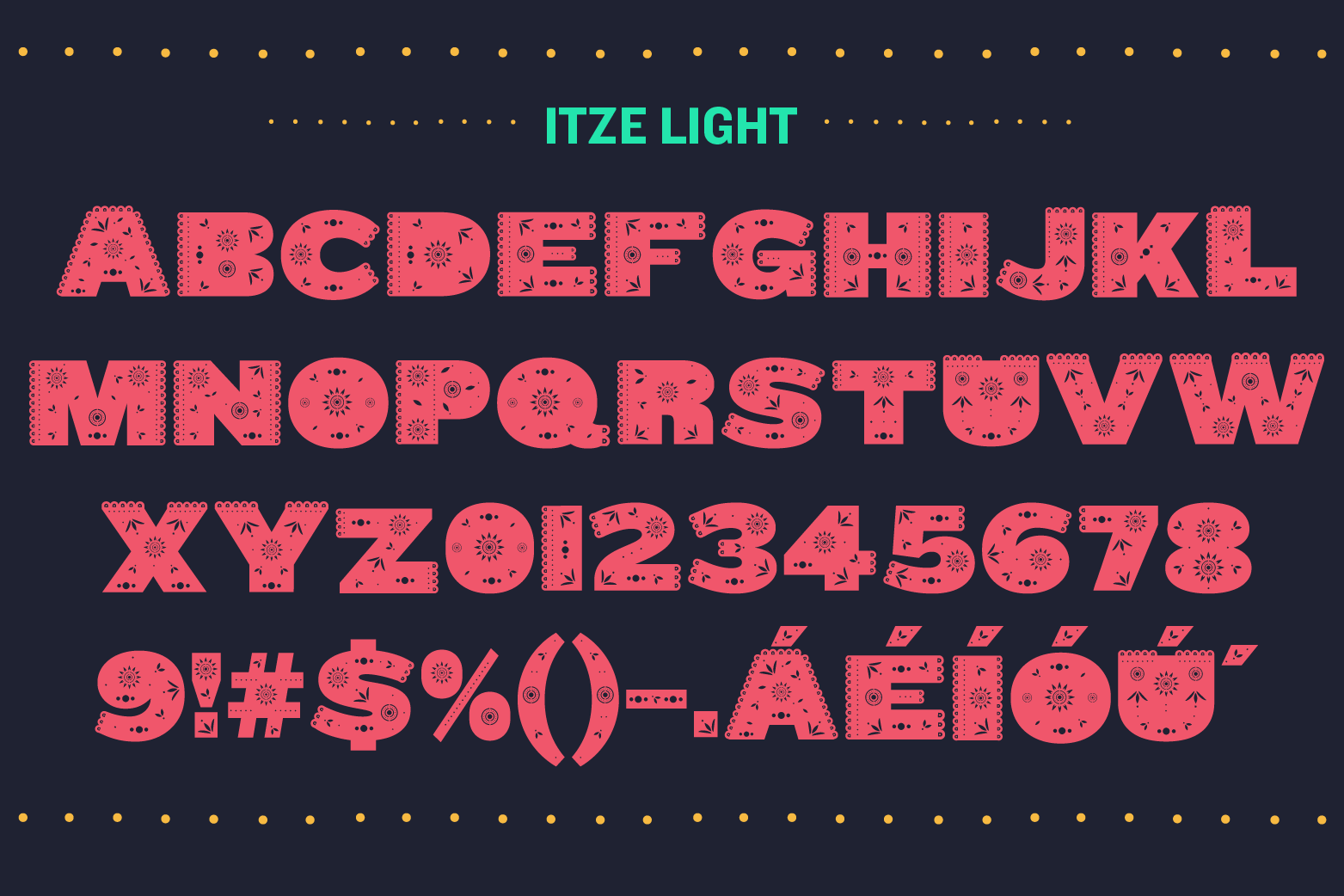 Itze Font example image 3