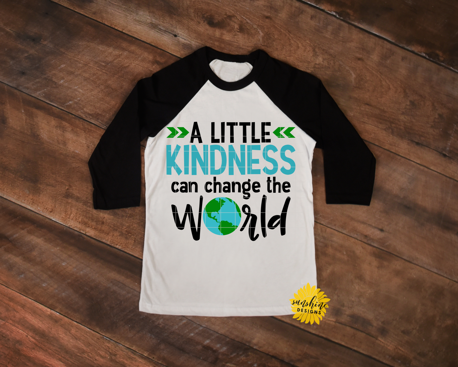 KINDNESS CAN CHANGE THE WORLD   ANTI-BULLYING   SVG DXF PNG example image 2