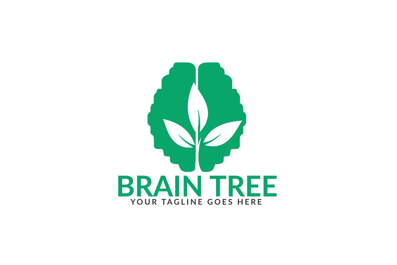 Brain Tree Logo Design. example image 1