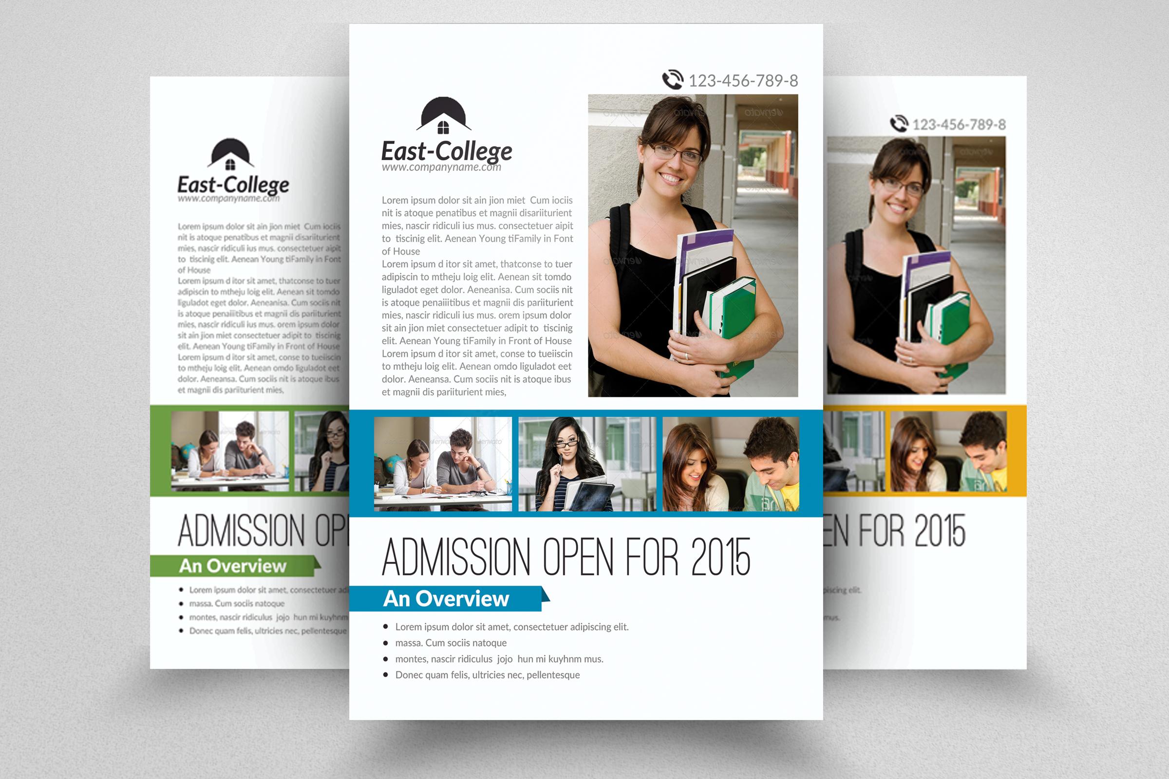 Senoir Education Flyer Template example image 1