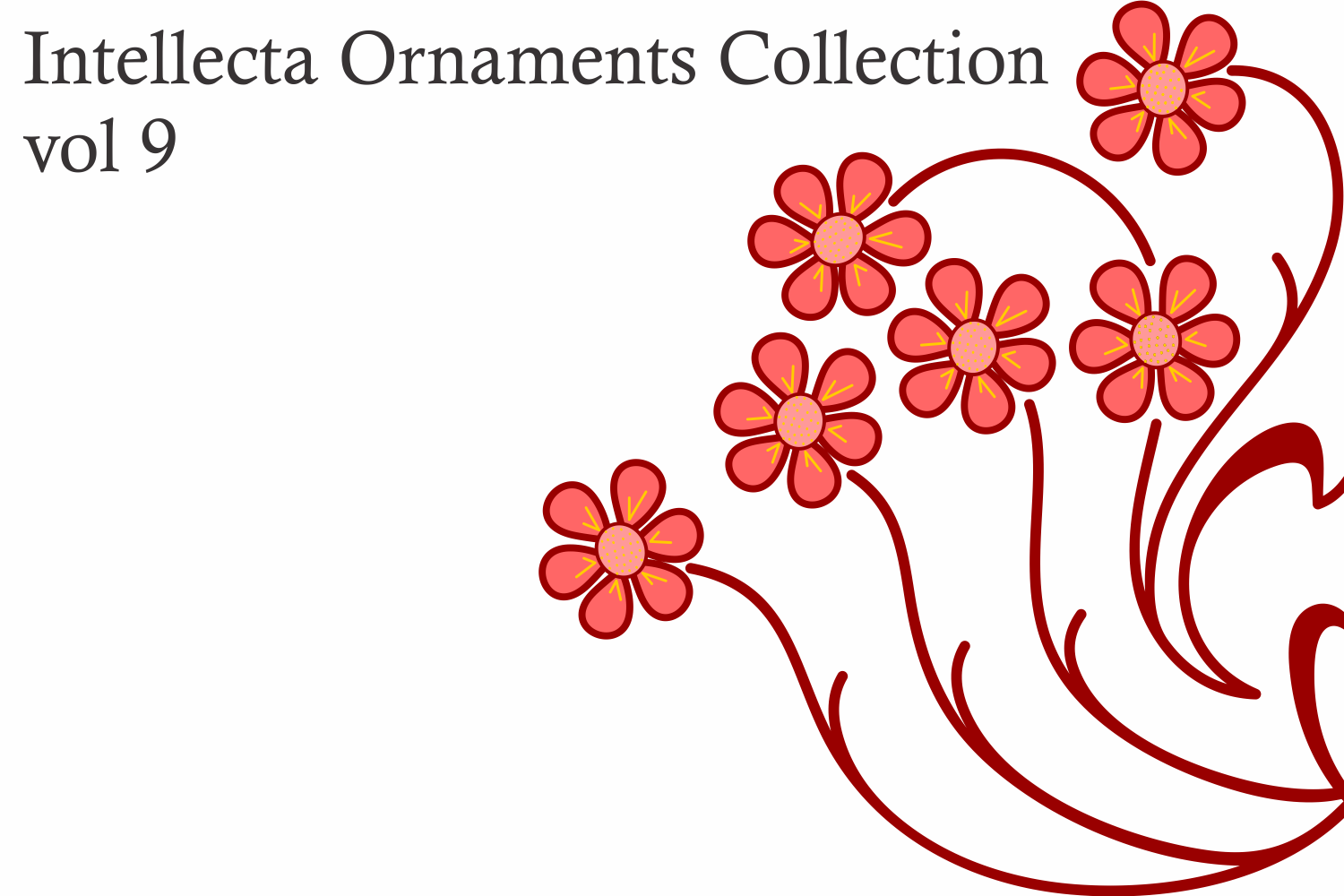 Intellecta Ornaments Collection 9 example image 4