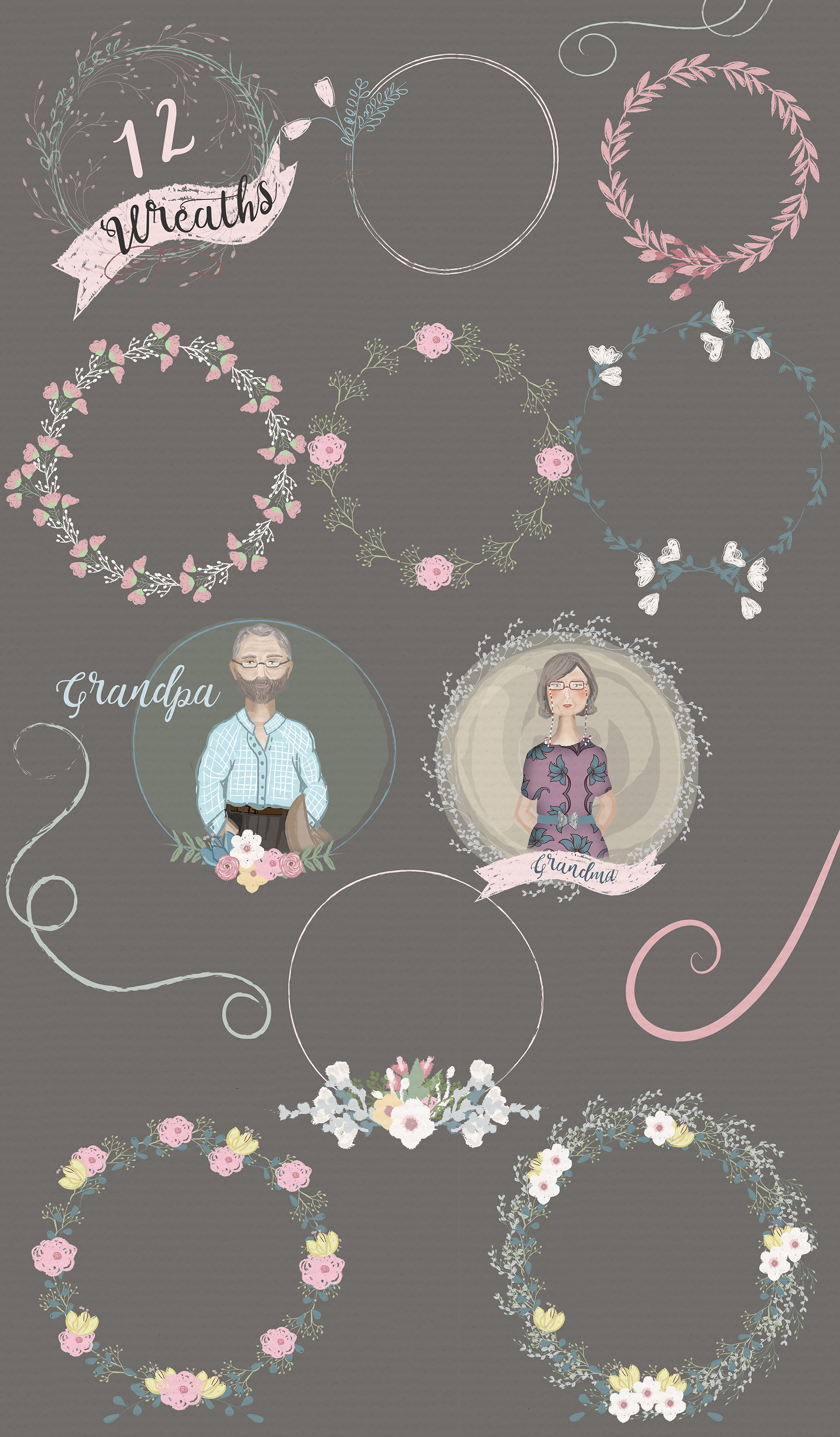 Set of Wedding and Family resources example image 3