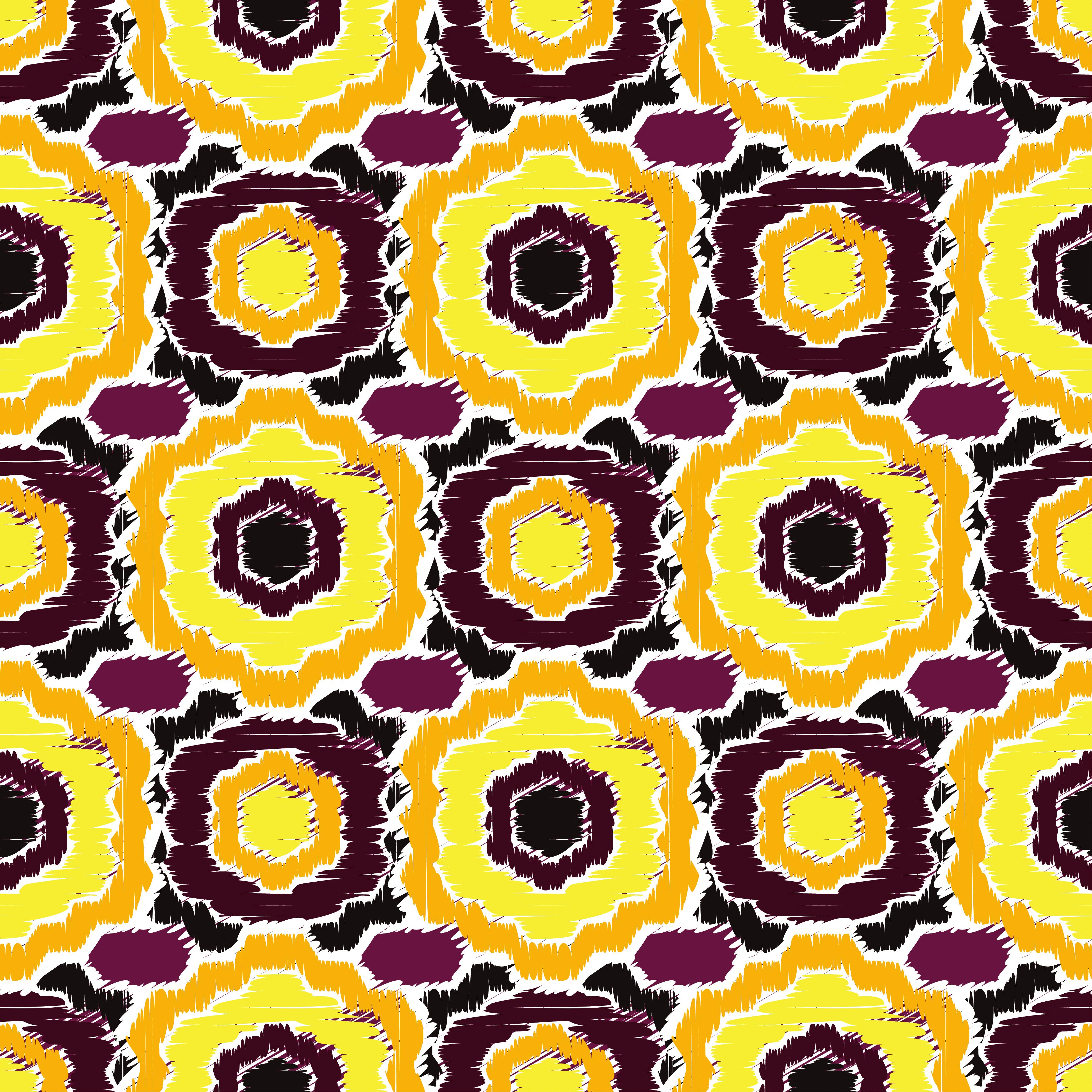Ethnic boho seamless pattern. Retro motif. Vector illustration. example image 1
