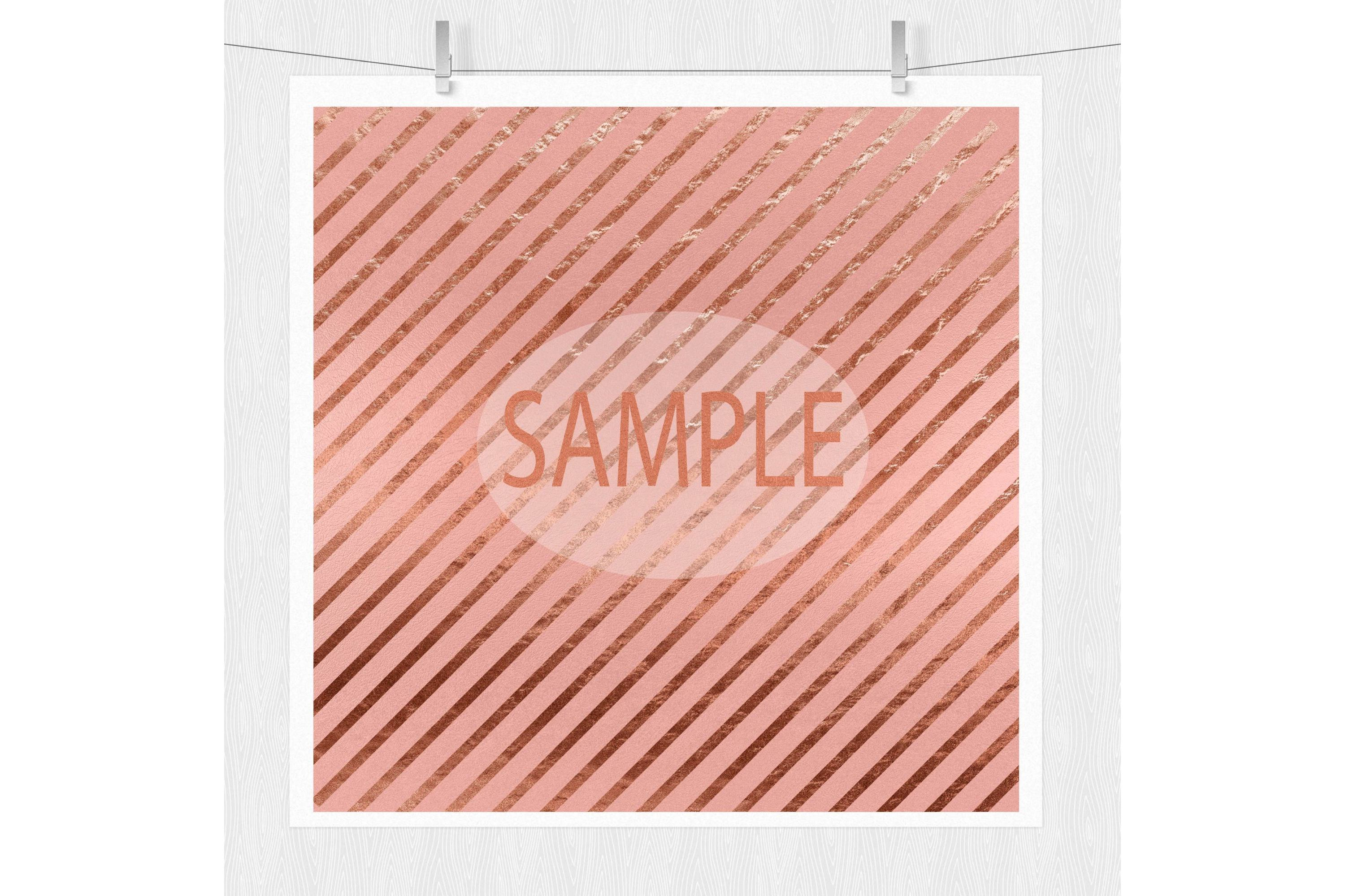Rose Gold Digital Paper - Rose Gold Texture example image 7