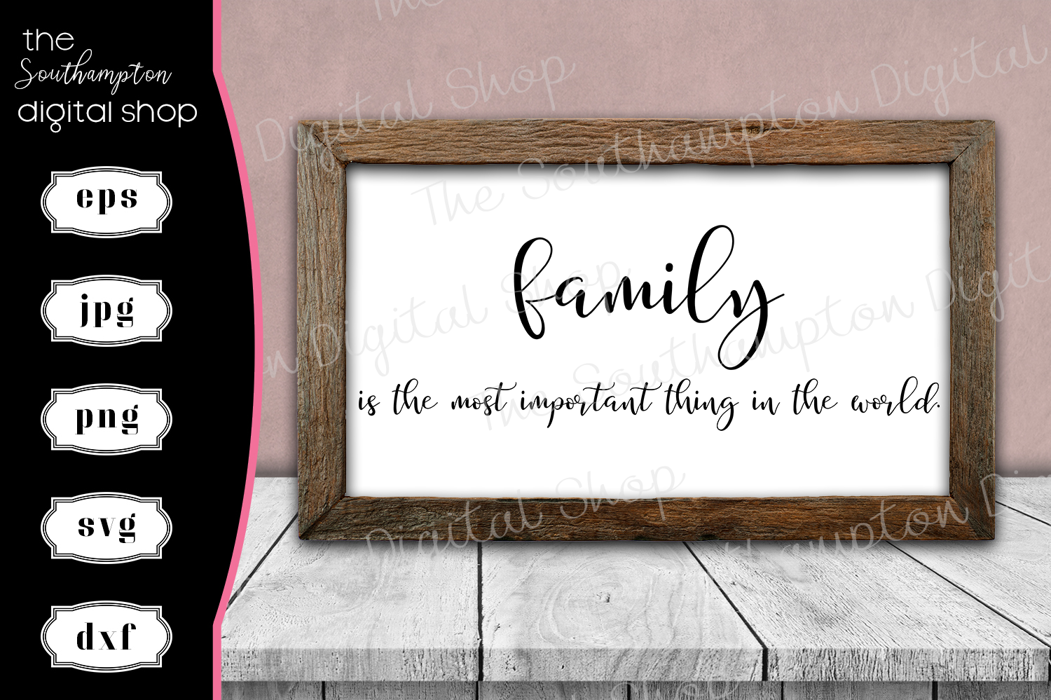 Beautiful Family Quote example image 1