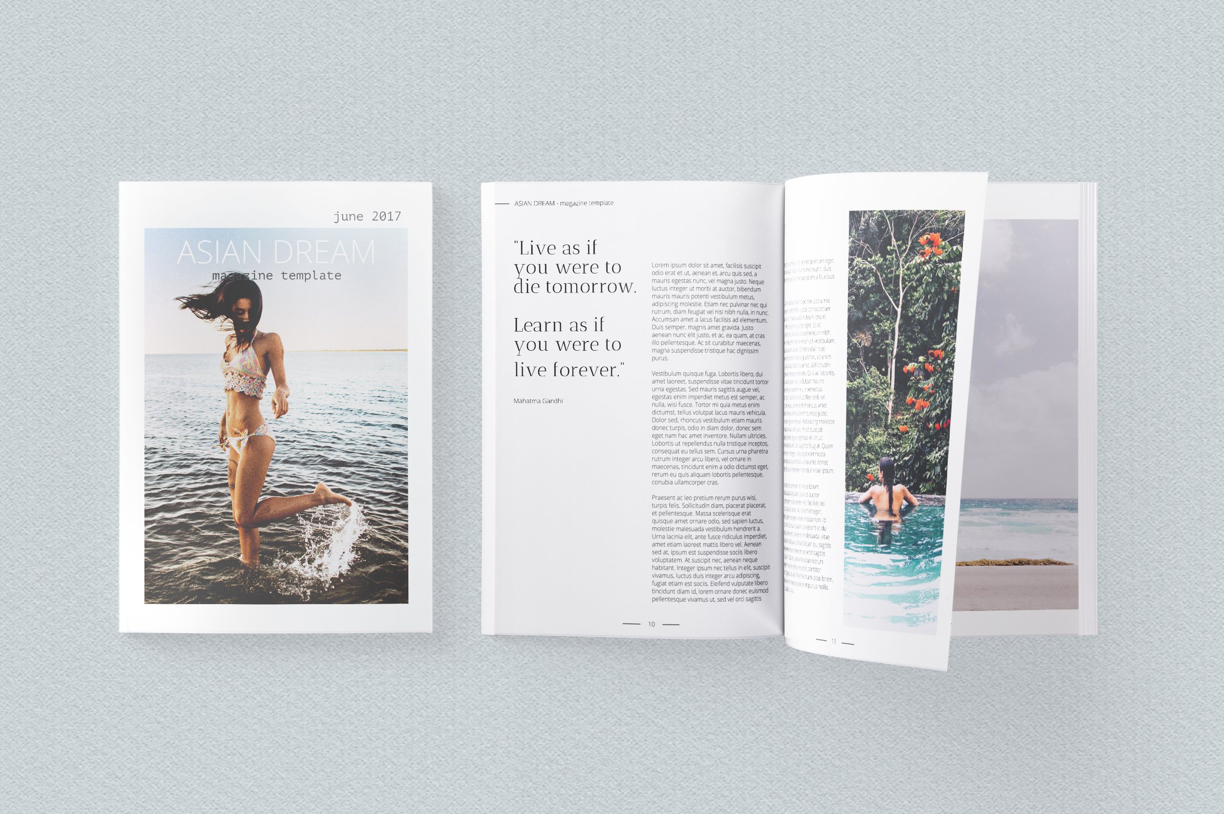 Asian Dream Magazine Template example image 3