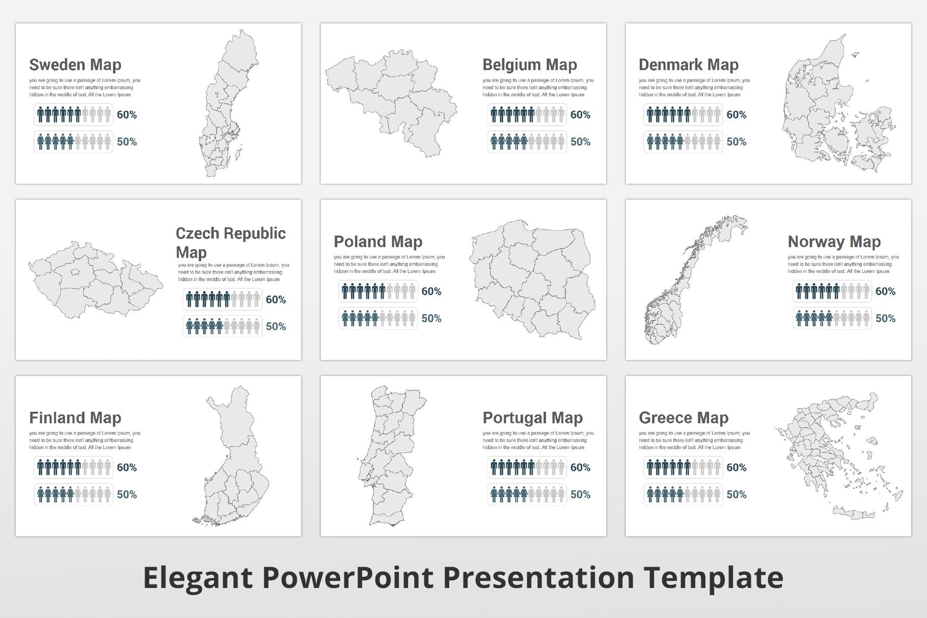 Elegant multipurpose PowerPoint Presentation Template example image 18