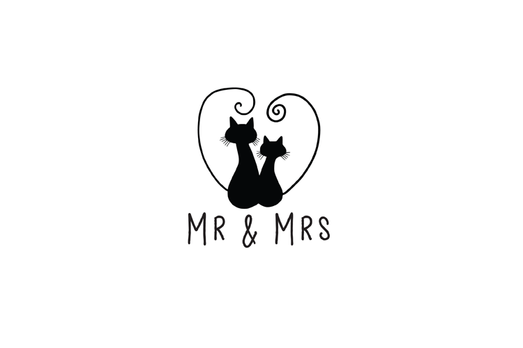 Mr And Mrs SVG example image 2