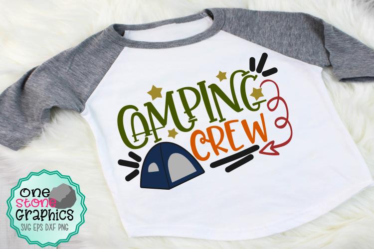 Camping crew svg,camping svg,camping example image 1