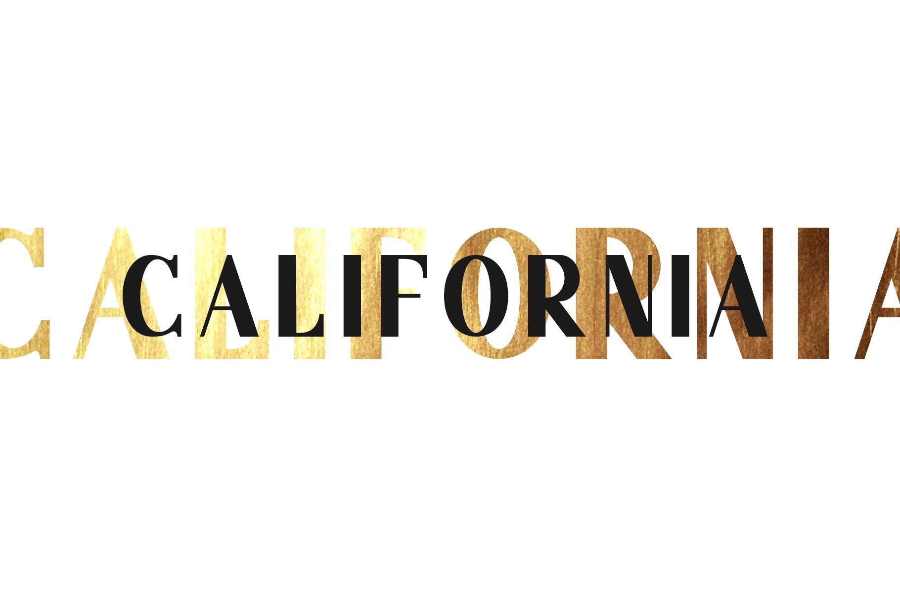 California. Sans serif family. example image 5
