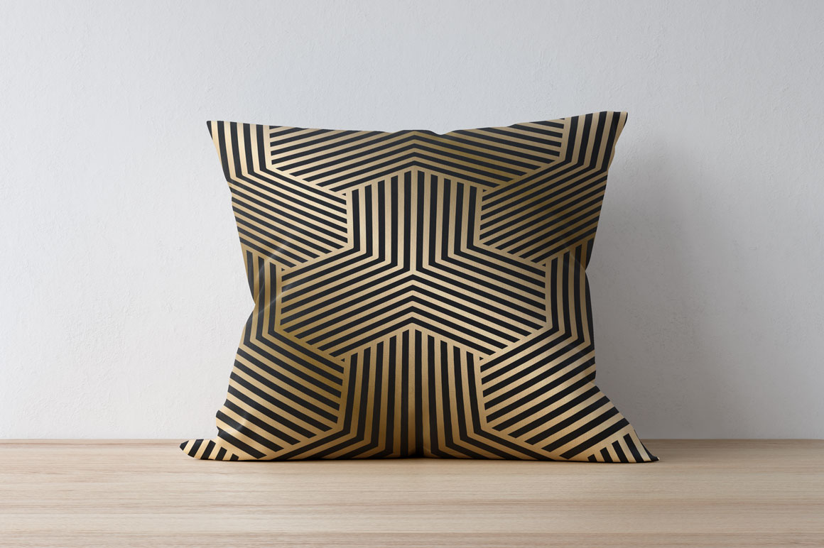 Luxury seamless striped patterns example image 2